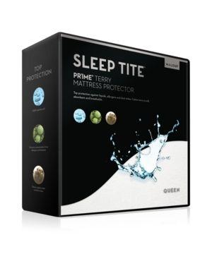 Sleep Tite PR1ME Waterproof Fitted Mattress Protector  Vinyl Free Shelf D