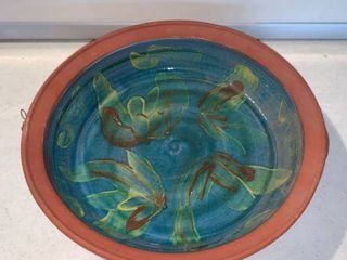 Hand Painted Clay Decorative Bowl location Shelf D