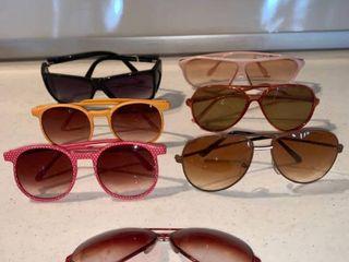 lot of 7 Pairs of Sunglasses location Shelf D