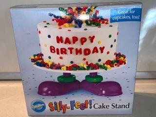 Wilton Silly Feet Cake Stand location Shelf D