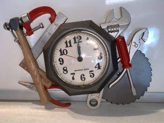 New Haven Plastic Workshop Clock location Shelf D