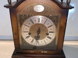 Bulova Tempus Fugit Mantel Clock With Key West Germany location Shelf E