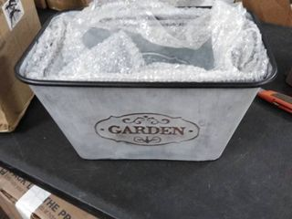 garden metal bucket 3 pc set