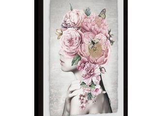Marmont Hill   Handmade Floral Hair Framed Print