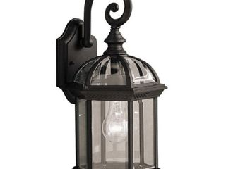 AA Warehousing Adalyn 1 light Exterior light in Black Finish