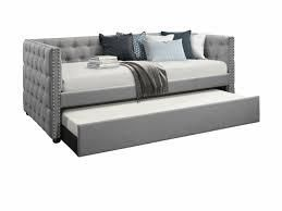 Gracewood Hollow Moyo headboard and footboard only twin grey