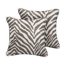 TIGER BROWN Indoor Outdoor lumbar Pillow By Kavka Designs   20X14