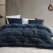 coma inducer oversized comforter king blue