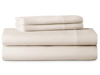 lUCID Comfort Collection 600 Thread Count luxurious Soft Cotton Blend Bed Sheet Set  Retail 98 49