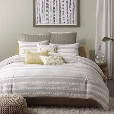 Carbon loft Hammond Cotton 3 piece Duvet Cover Set  Retail 103 32