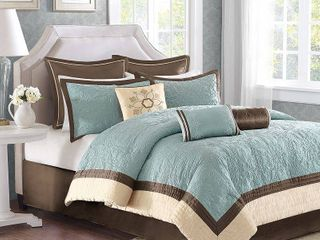 Madison Park Melanie 9 piece Comforter Set  Retail 111 89