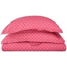 Superior 600 Thread Count Polka Dot Cotton Blend Duvet Cover Set