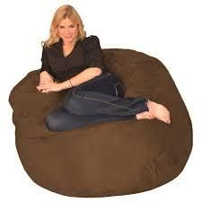 Porch   Den Green Bridge Memory Foam Bean Bag 4 foot Chair  Retail 111 99 chocolate