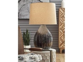 Marloes Copper Finish Metal Table lamp   18 75  W x 18 75  D x 31 5  H  Retail 137 49