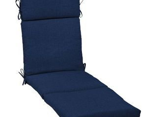 Arden Selections Sapphire leala Texture Outdoor Chaise lounge Cushion   72 in l x 21 in W x 4 in H