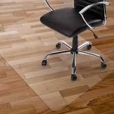 PVC Chair Floor Mat Home Office Protector For Hard Wood Floors mat clear