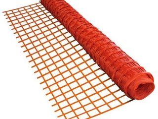 AlEKO Safety Fence Barrier 4 X 100 Feet PVC Mesh Net Guard Orange   4  x 100