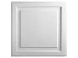 Element White Ceiling Tile  10 tiles