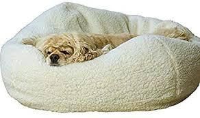 Natural Sherpa 26 inch Pet Bed