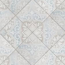 SomerTile 5 75 x 5 75 Inch Barcelona Decor Montjuic Porcelain Floor and Wall Tile  44 Tiles 10 77 sqft  Retail 134 60