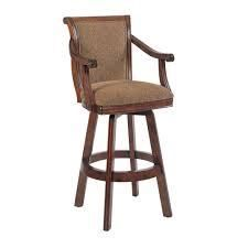 Powell Bordeaux Warm Cherry Swivel Bar Stool  30 Seat Height  Retail 276 99 1 only