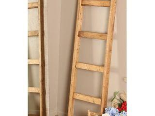 Farmhouse Decorative Wooden Blanket ladder  Retail 156 99