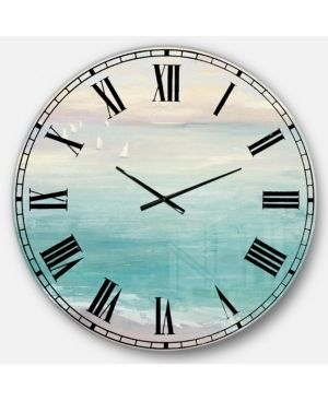 Designart  From the Shore  Traditional large Wall Clock  Retail 164 99