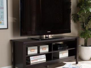 Contemporary Dark Brown TV Stand by Baxton Studio  Retail 97 99