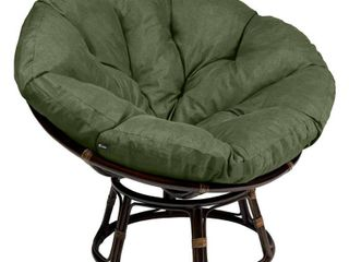 Classic Accessories Montlake Water Resistant 50 Inch Papasan Cushion cushion only Retail 153 49