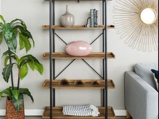 Carbon loft Edelman 68 inch Urban Pipe Bookshelf   Retail 206 49