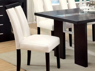 Furniture of America lumina Two tone Dining Chairs  Set of 2  Retail 213 99