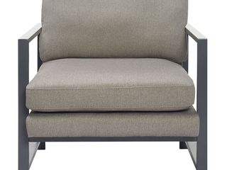 Tommy Hilfiger Russell Metal Frame Accent Chair  Retail 259 49