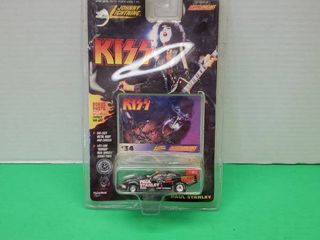 JOHNNY lIGHTNING  KISS RACE CAR