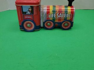 lIFE SAVERS  TRAIN TIN