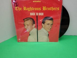 THE RIGHT BROTHERS  BACK TO BACK  VINYl RECORD