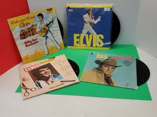 ElVIS PRESlEY  VINYl RECORDS COllECTION
