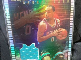 Kansas Jayhawk Drew Gooden Grizzlies Game Worn Card