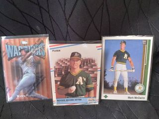 Mark McGwire Set of 3 Cards