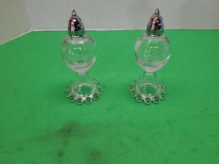 SAlT  PEPPER GlASS SHAKERS