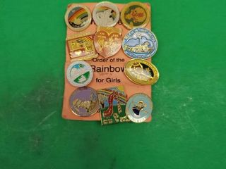 Rainbow For Girls Pins