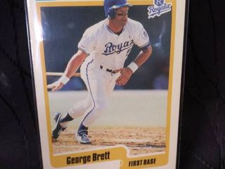 George Brett Fleer 90 Card