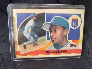 Bo Jackson Topps Card