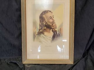 Photo Of Jesus in Frame  called  INSPIRATION