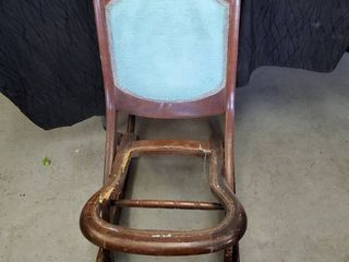 Collapsible Antique Rocking Chair