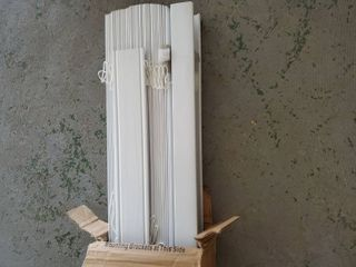 White Blinds 6ft  2 in  width