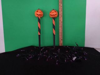 Halloween Solar Pumkin Pr   lights