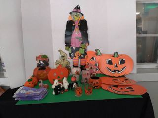 Halloween Decor lot