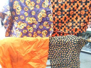 Halloween Table Covers   Material