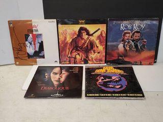 5 laser Disc Movies