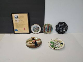 Decorative Plates And Photo Frame